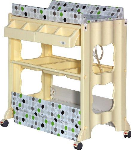 ib style wickelkommode mit badewanne und ablage. Black Bedroom Furniture Sets. Home Design Ideas