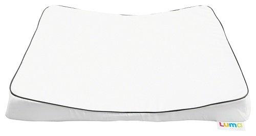Luma Wickelauflage in weiß